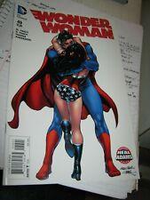 Superman Wonder Woman kiss 49 NEAL ADAMS VARIANT NM+ 9.4+ DC COMICS