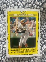 2021 Topps Heritage 'The Great One' Roberto Clemente GO-13 - Pittsburgh Pirates