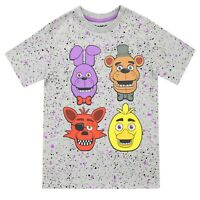 Five Nights At Freddy's T-Shirt | Boys FNAF Short Sleeve Top | Kids FNaF Tee