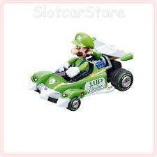 "Carrera Go 64093 Nintendo Mario Kart Circuit SPECIAL ""LUIGI"" 1:43 CAR AUTO"