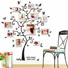 Medium Family Tree Wall Decal Stickers Vinyl Art Photo Gallery Home Decoration
