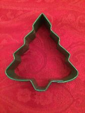 "Wilton Green Metal Christmas Tree Cookie Cutter 3"", NEW"