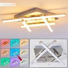 LED Decken Leuchte drehbar Wohn Schlaf Raum Lampe Fernbedienung RGB Farbwechsler