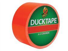 Coloured Duck Duct Gaffer Waterproof Tape ORANGE Repair Craft DIY Use