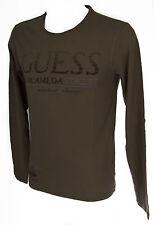Maglia t-shirt girocollo uomo GUESS art.M53I36 taglia XS colore D144 TUMBLEWEED