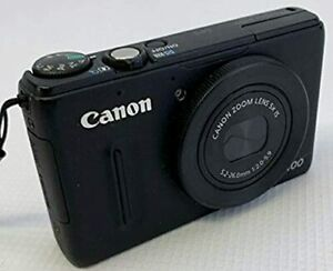 Canon PowerShot S100 12.1MP Digital Camera Black + 16 GB Memory Card +Camera Bag