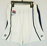 Nike Olympic DREAM TEAM USA White Nike Basketball Shorts Large