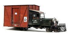 BANTA MODELWORKS BOX BODY for BACHMANN 1:20.3 RAIL TRUCK Unptd Kit BMT2119