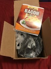 PERFECT BACON BOWL. COOKS IN OVEN, TOASTER OR MICROWAVE. NEW! BOX OF 4