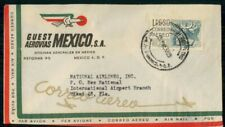 Mayfairstamps MEXICO AD 1958 COVER GUEST AEROVIAS MEXICO wwh23657