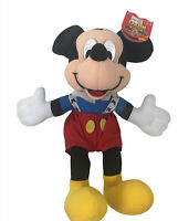 "Vintage Disney Mickey Mouse Mattel Arco Toys 14"" Plush Doll Sears"