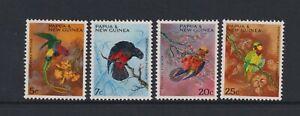Papua New Guinea - 1967, Noël, Perroquets, Oiseaux Ensemble - MNH - Sg 121/4
