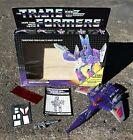 G1 TRANSFORMERS 1986 Decepticon CYCLONUS - COMPLETE W/ BOX & INSERTS - Read For Sale
