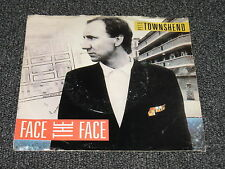 Pete Townsend  - Face the Face 45 RPM w / Picture Sleeve