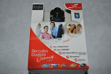✨ nos-Hercules Dualpix Exchange 2MP Cámara web USB 1280X960 WIN7+ Reino Unido Vendedor