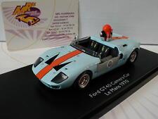 """Schuco PRO.R43 08996 # FORD GT 40 """" Le Mans # Kammerawagen # GULF """" 1:43  NEU !!"""