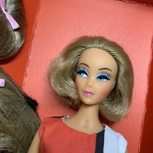 Anouk Displayed only MINTY doll all original Salon de Coiffure Ash Blonde lashes