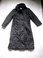Manteau long imperméable doudoune In Extenso noir t 44 black coat XL
