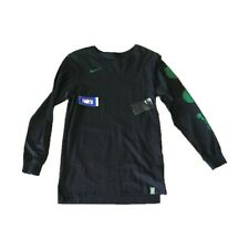 NWT NEW Boston Celtics Nike Men's Multi Logo Long Sleeve Shirt Small