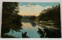 Rochester Minnesota Scene in Mayo Park to Morgan Minn Postcard G12