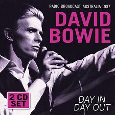 DAVID BOWIE New Sealed Ltd Ed 2017 LIVE 1987 AUSTRALIA CONCERT 2 CD SET