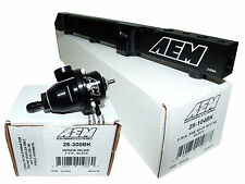 AEM High Volume Fuel Rail + Adj Pressure Regulator for Honda F22A1 F22A4 F22A6