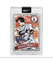 Mike Trout by Blake Jamieson (Ben Baller Collaboration)Topps Project 2020 #100