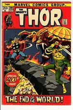 Thor #200 VG Marvel (1972) -Ragnarok Issue