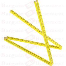 1 M 1000 mm Iarda Stick Righello in plastica misura 1Mtr 3 FT (ca. 0.91 m), 4 PEZZI regola pieghevole