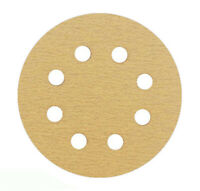"5"" Sanding Disc Grit 40 - 600 Random Orbital Orbit 8 Hole Hook & Loop Sandpaper"
