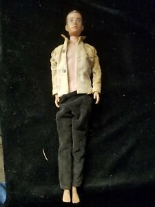"Vintage Unbranded 1960's 12"" Action Figure Made in Japan"