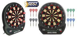 Best Sporting Elektronische Dartscheibe Automat Dartboard Blackpool + Pfeile NEU