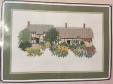 Ann Anne Hathaway's Cottage Counted Cross Stitch Kit Susan Ryder