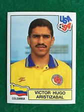USA 94 n 70 VICTOR HUGO ARISTIZABAL COLOMBIA , Figurina Sticker Panini NEW