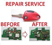 alfa romeo 146 156 GTV 166 REPAIR SERVICE FOR MICRO SWITCH REMOTE KEY FOB