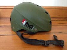 Bell Bicycle Skateboard Bike Safety Helmet Olive Green Matte Dave Mirra Youth M