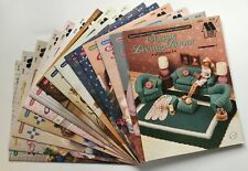 Annies Attic Crochet Pattern Booklets Barbie Doll Furniture EACH SOLD SEPARATELY