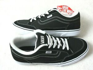 Vans Men's Bearcat Canvas Classic Skate shoes Black White Size 10.5 VN000DT2BZW