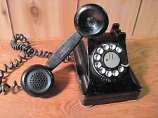 Classic Western Electric Pre-War Metal Model 302 Rotary Telephone