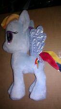 "My Little Pony Rainbow Dash - 10"" Plush by Aurora used good shape."