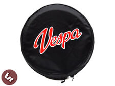 "VESPA TSR 10"" Spare Wheel Cover - Custom Hot Rod Vespa Script"