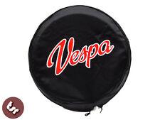 "Vespa Tsr 10 ""rueda de repuesto cubierta-Custom Hot Rod Vespa script"