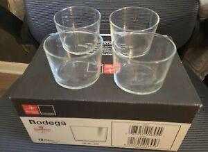 Bormioli Rocco Bodega Casual Glassware Set of 4