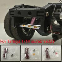 Metall Tail Beam LED Licht Schlußlicht Für Tamiya 1/14 56360 56323 RC Truck Auto
