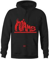 """FOAMS"" Hoodie to match Habanero Red ""Foams"""