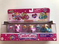 Shopkins Dessert Drivers Cutie Cars 3 Pack w/ Mini Shopkins Moose Toys 56740