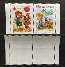 Timbres France 2002 Boule et Bill YT P3467A. Neufs**. Issus du carnet BC3467a