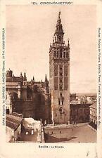 Spain Sevilla Le Giralda El Cronometro Tower Turm