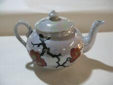 Unique Art Deco Vintage Royal Cauldon Brown-Westhead Moore Pottery Teapot #PO361