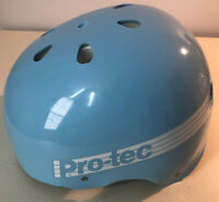 PROTEC CLASSIC GLOSS LIGHT BLUE SKATE HELMET SEE PICS FOR SIZING